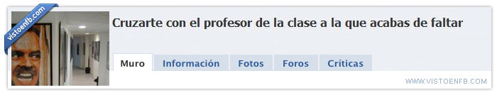 clase,faltar,profesor