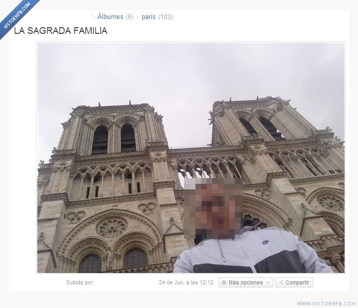ignorancia,parís,sagrada familia