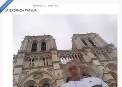 Enlace a La Sagrada Familia de París