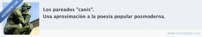 canis,poesía