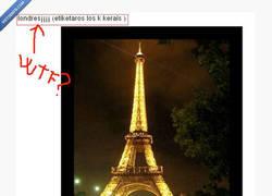 Enlace a La torre Eiffel londinense