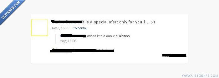 Aleman,ignorancia,inglés