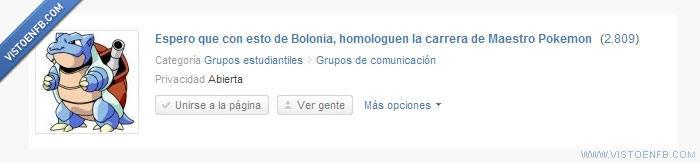 Bolonia,carrera,estudios,pokemon,universidad