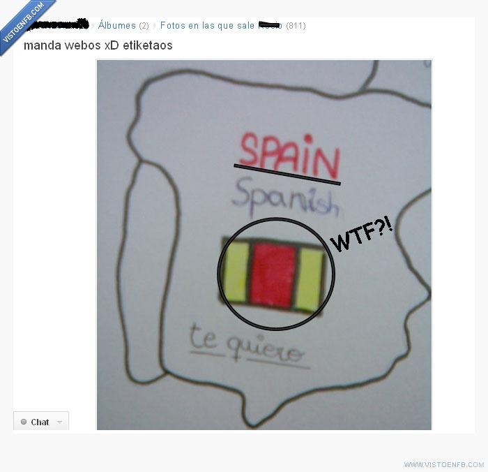 bandera,Espña,estupidez