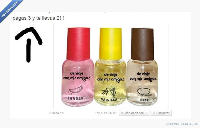 fail,oferta,perfume