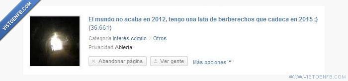 2012,berberechos,fin del mundo,mayas
