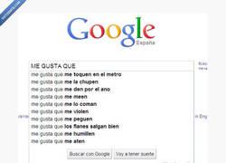 Enlace a Google se ha levantado un tanto pervertido