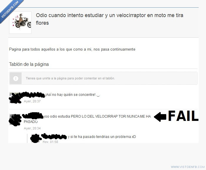 fail,freak,página,Velocirraptor