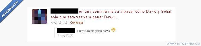 David,goliat,Historia,Saber
