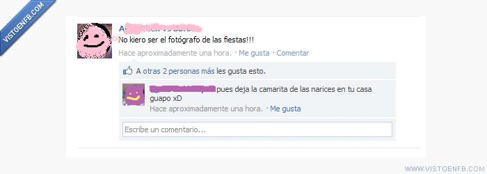 camara,facebook