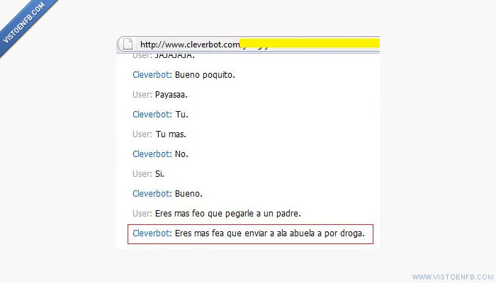 abuela,cleverbot,droga