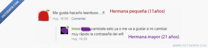 contraseña,hermana,pequeña,wifi