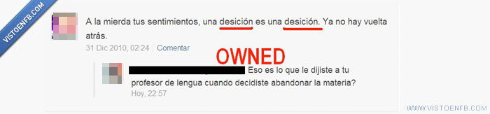 cani,decisión,fail,owned