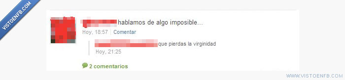 imposible,virginidad