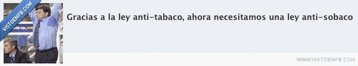 ley,sudor,tabaco