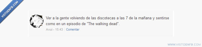 discotecas,the walking dead,Zombies