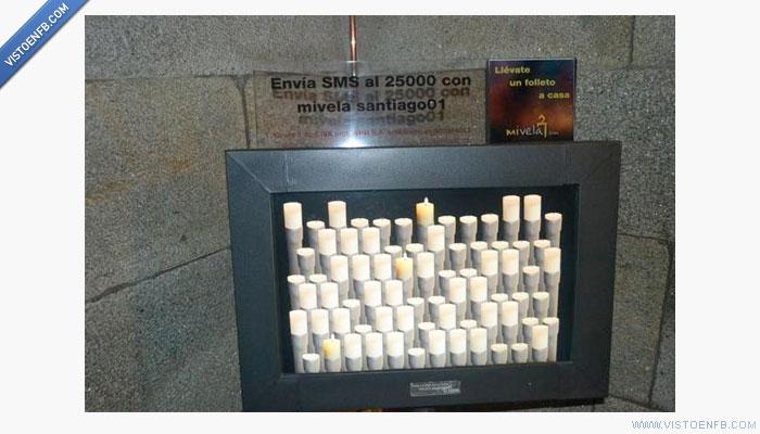 catedral de Santiago,iglesia,mivela,sms