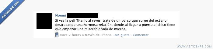 película,revés,titanic