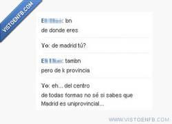 Enlace a Madrid, ya no es uniprovincial