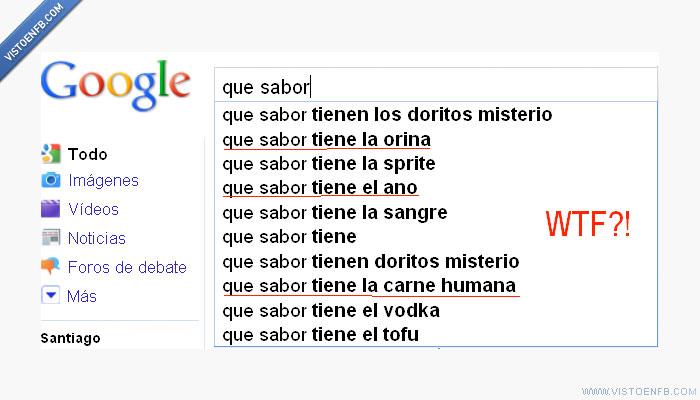 canibalismo,google,sabor