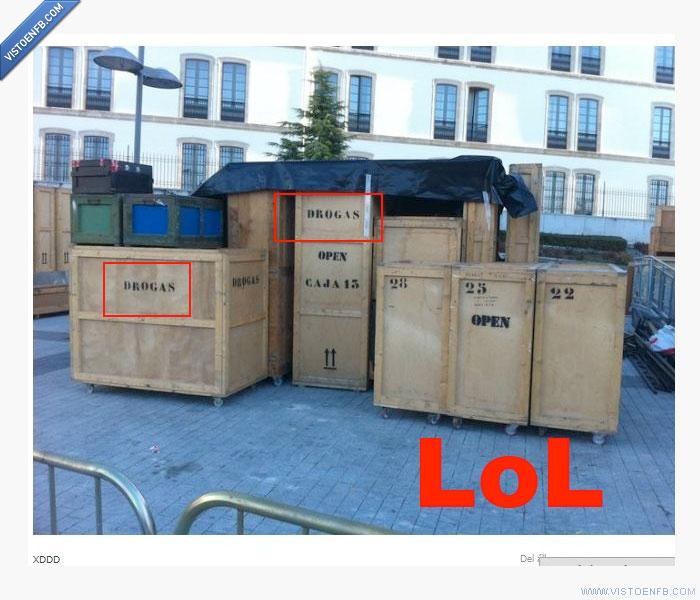 cajas,drogas,pedido