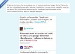 Enlace a #Humorelpais, como sería el humor si fuera políticamente correcto