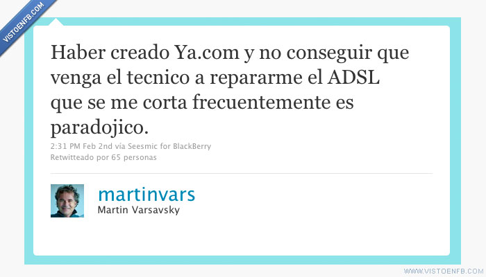 adsl,error,internet,twitter,varsavsky,ya.com