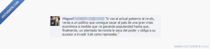 al revés,atentado,Crisis,económica,Gobierno,película,terrorista,Zapatero,ZP