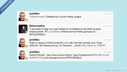 Enlace a Jordi González la lía en twitter