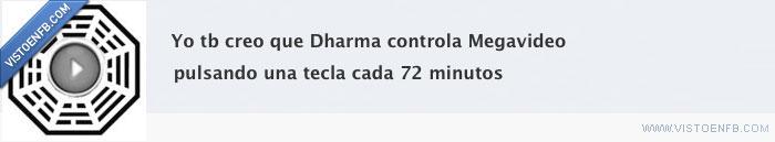 dharma,lost,megavideo
