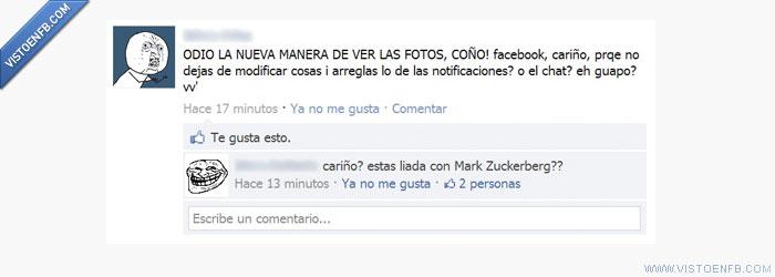 Mark Zuckerberg,queja,quejas,y u no