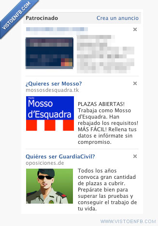 anuncios,guardia civil,mossos