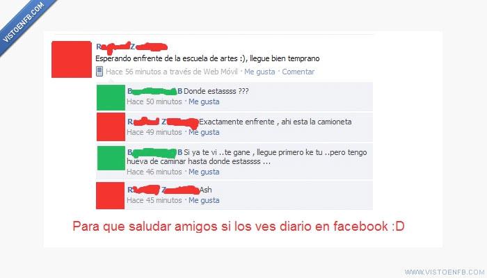 amigos,conversación,facebook,patético