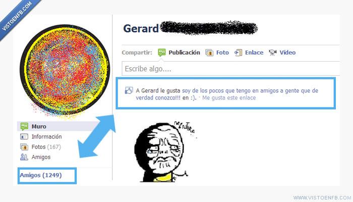amigos,facebook,meme,Mentira