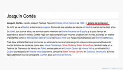 Enlace a Joaquín Cortés