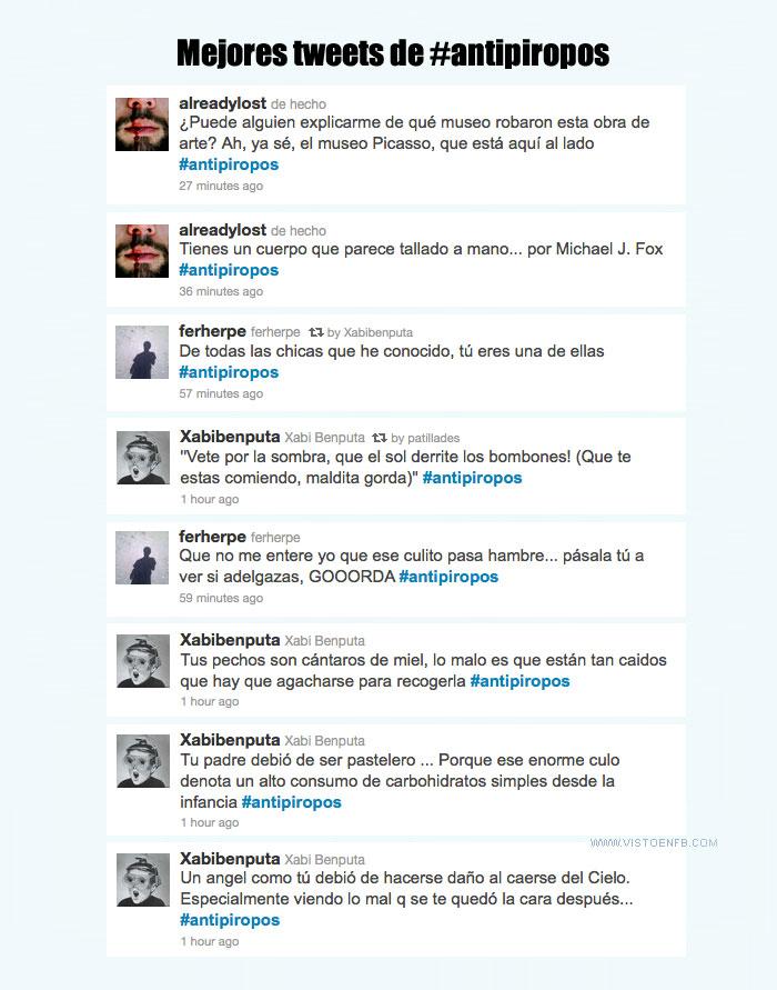 antipiropos,piropos,trending topic,twitter