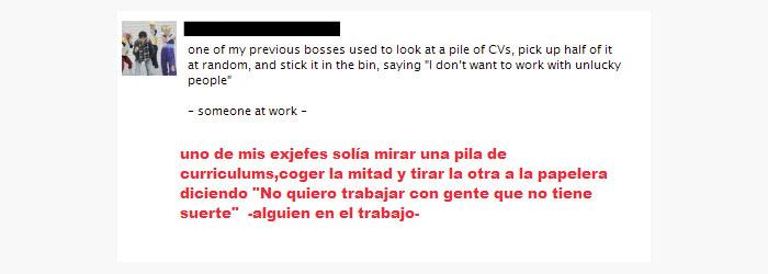 cabrón,jefe,suerte,trabajo