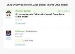 Enlace a Ateos montando en unicornio
