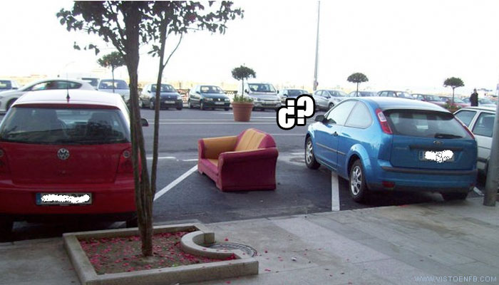 coche,fototuenti,parking,sofá