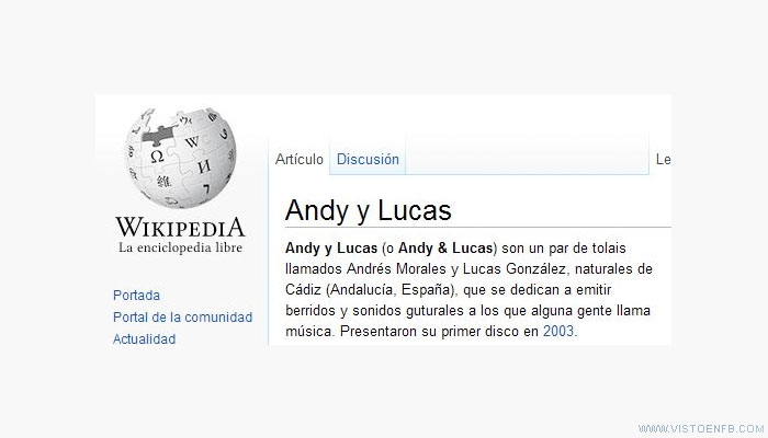 andy y lucas,wikipedia