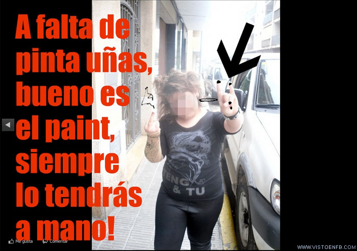 heavy metal,Paint,pinta-uñas