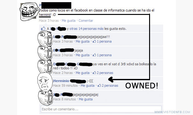 alumnos,facebook,informática,owned