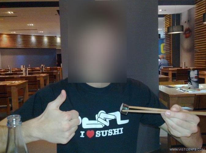 camiseta,i love sushi,pescado,sushi