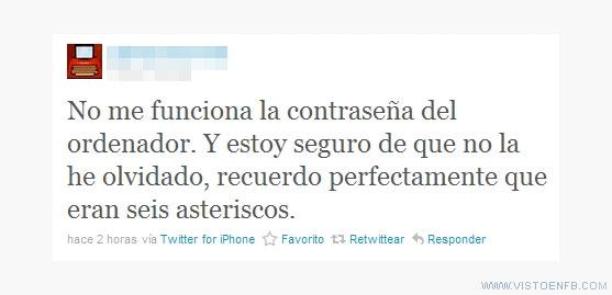 asteriscos,contraseña,twitter