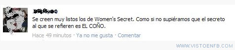 listos,secret,sutileza,womens