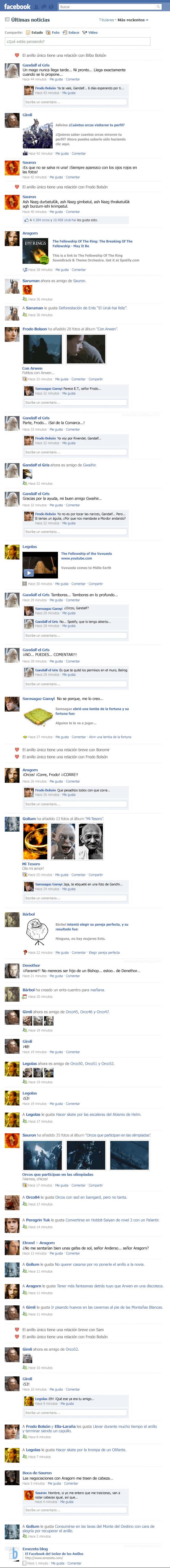 emezeta.com,facebook,fake,señor de los anillos