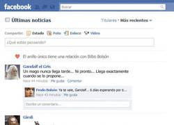 Enlace a El facebook del Señor de los Anillos (www.emezeta.com)