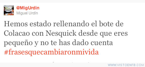 cambiar,Colacao,Nesquick,twitter