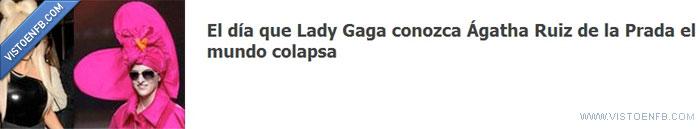agatha ruiz,de la Prada,Lady Gaga