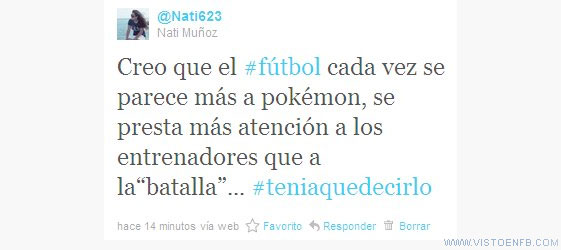fútbol,pokémon,Twitter